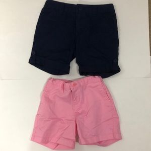 Faded Glory & Cherokee girls shorts size 12